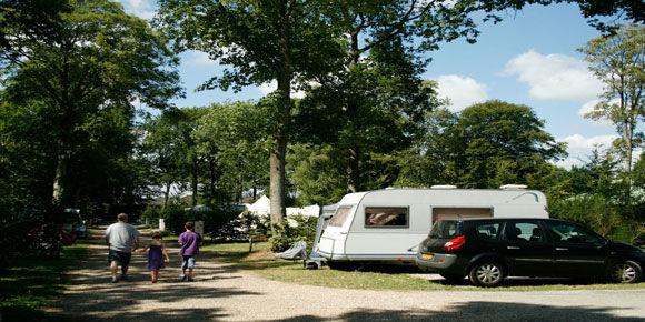 Campsites Normandy; La Forêt campsite