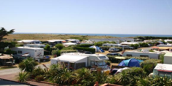 Campsites Normandy; Le Grand Large campsite