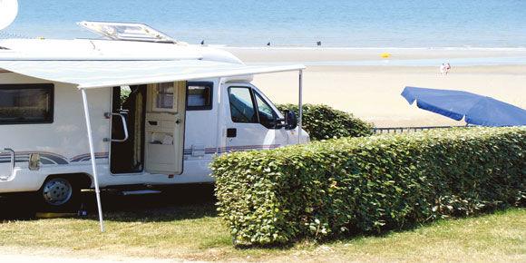 Campsites Normandy; Point du Jour campsite