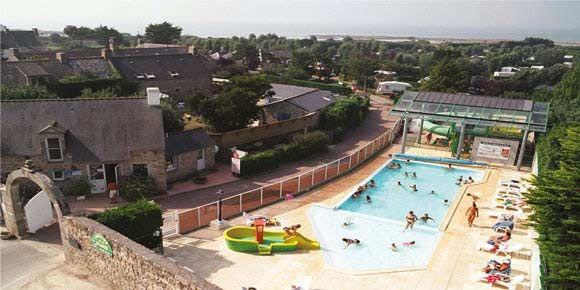 Campsites Brittany; La Plage campsite