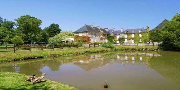 Campsites Brittany; Château de Galinée campsite