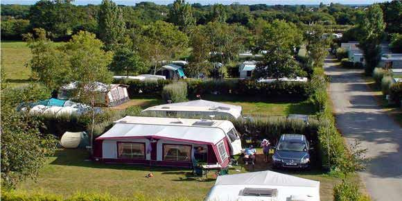 Campsites Brittany; La Piscine campsite