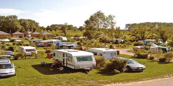 Campsites Burgundy; La Samaritaine campsite