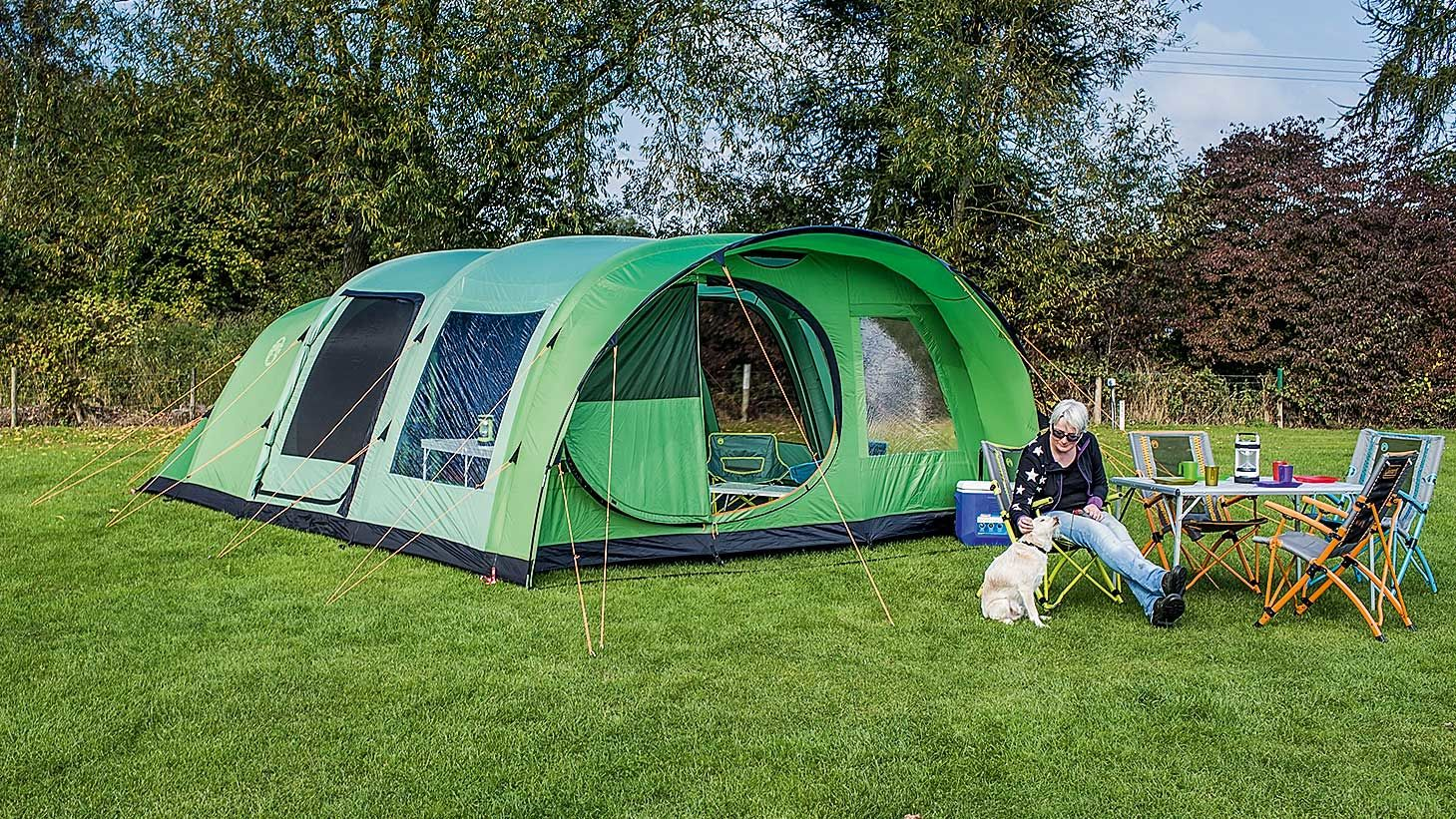 Coleman fastpitch air valdes 6xl the camping and for Coleman s fish market