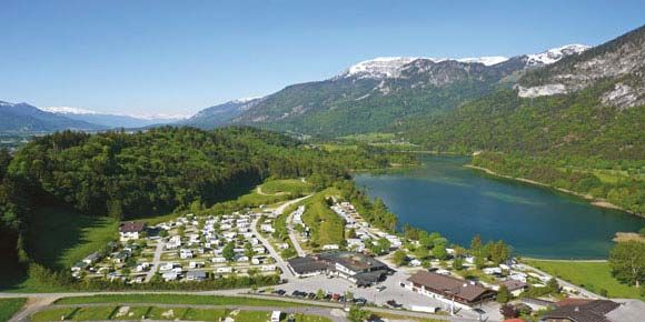 Austria camping; Seeblick Toni campsite