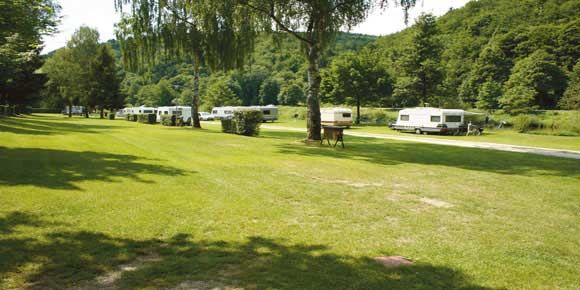 Camping in Germany; Naabtal Pielenhofen campsite
