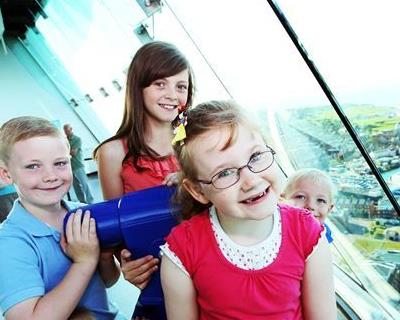 Kids of all ages enjoy their trip to Emirates Spinnaker Tower