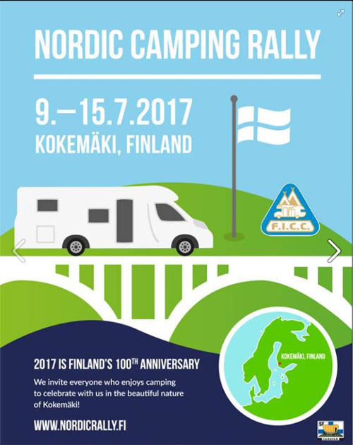 Nordic Rally Poster