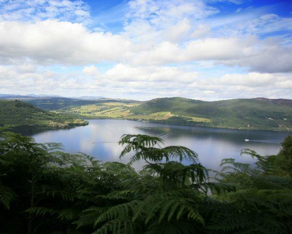 A view of Loch Ness taken by a member of Lochness Shores Camping and Caravanning Club site staff.