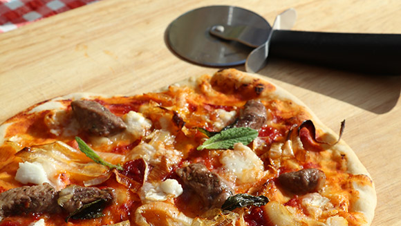 A Pizza The Action The Camping And Caravanning Club