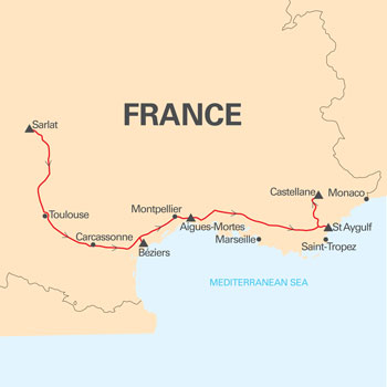 Southern-France-Map