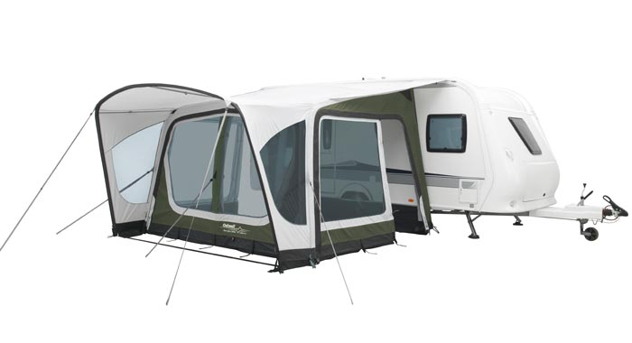 Outwell Awning Our Prize Comprises The Stunning Nordic Shore Amber 350SA In Special Embossed Outtex 6000 HD Durable Polyester For Enhanced Good Looks And