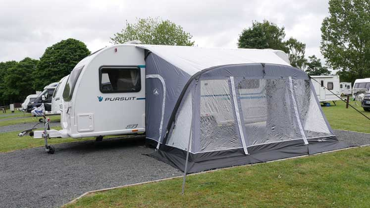 Sunncamp Swift 390 Air Awning Instructions ...