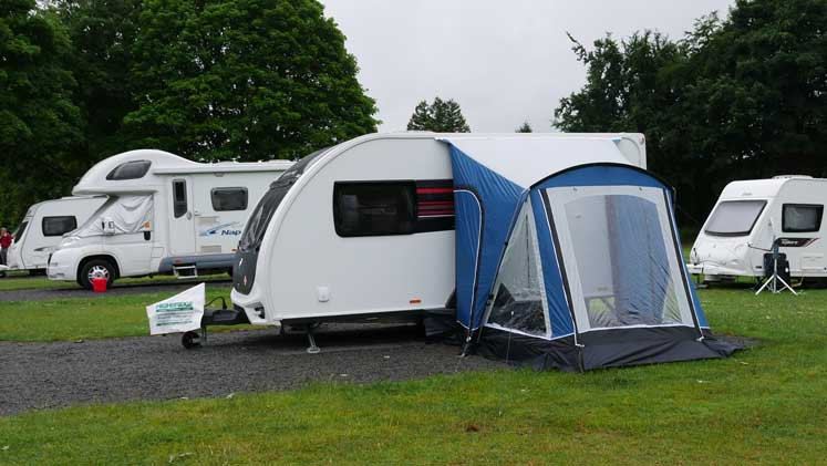 Towsure's Portico Square 220 Porch Awning - The Camping ...