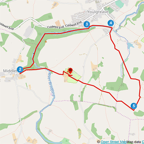 Bakewell to Middleton walk