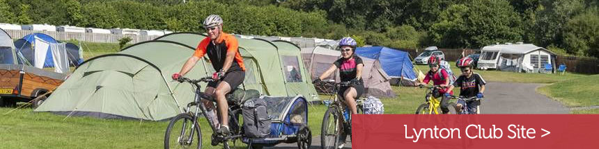 family-cycling-on-verwood-campsite