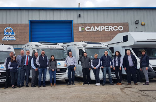 709388bb3e Camperco are one of the largest buyers of campervans   motorhomes in the UK    Ireland. Our scale means that we can offer great value on new   ex-rental  ...