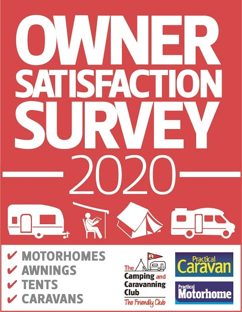 Owner Satisfaction Survey 2020 - The Camping and Caravanning Club