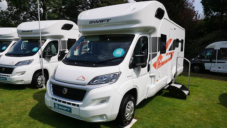 Swift: New caravans and motorhomes for 2020 - The Camping
