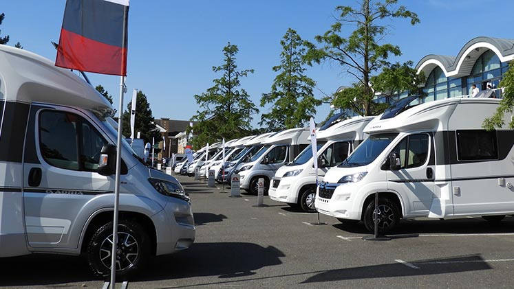 New caravans motorhomes header