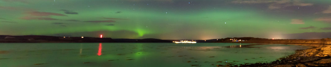Northern Lights Scotland (Shutterstock, Chanonry)