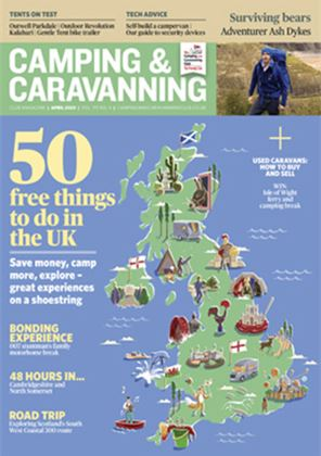 Camping and Caravanning club magazine - April 2020