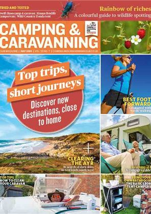 Camping and Caravanning club magazine - July 2020