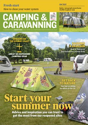 Camping and Caravanning club magazine - August 2020