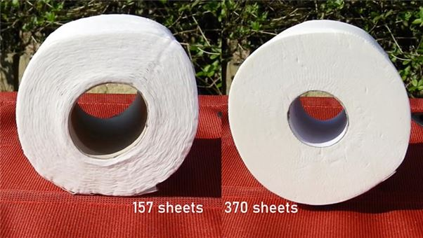 Toilet roll testing
