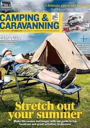 Camping and Caravanning club magazine - September 2020