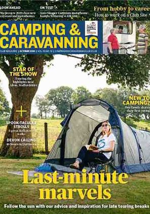 Camping and Caravanning club magazine - October 2020