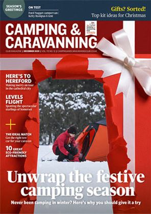 Camping and Caravanning club magazine - December 2020