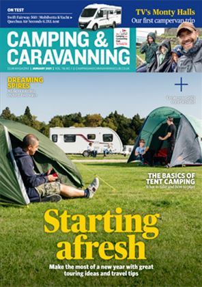 Camping and Caravanning club magazine - January 2021