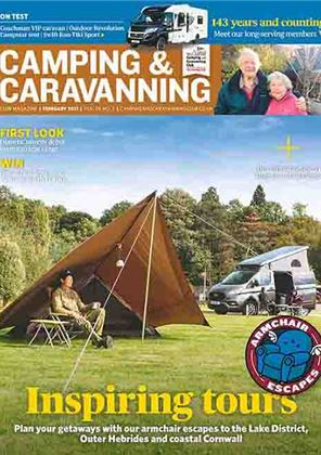 Camping and Caravanning club magazine - February 2021