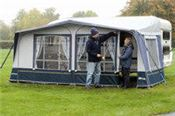 Full awnings give plenty of extra space