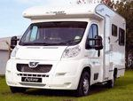Low profile coachbuilt motorhome