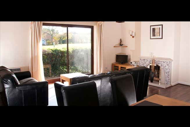 The dining room offers space for all the family