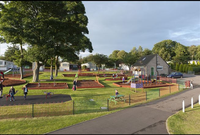Alton The Star Play Area The Camping And Caravanning Club