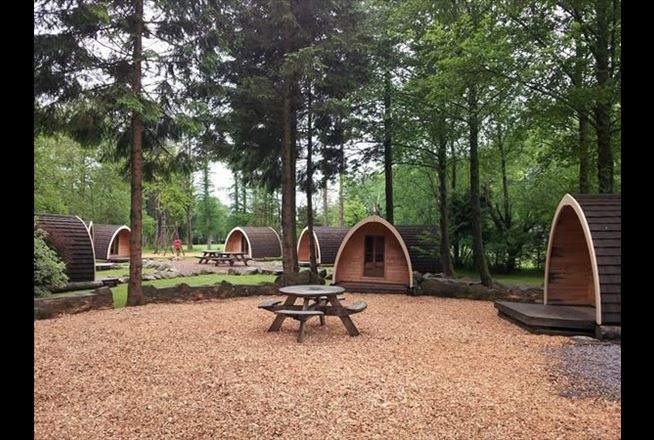 Camping Pods At Eskdale Club Site The Camping And