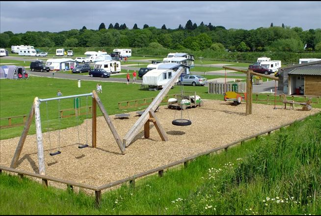Drayton Manor Play Area The Camping And Caravanning Club