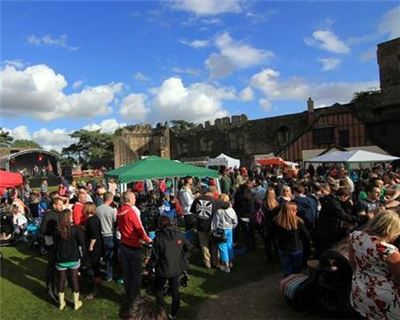 Enjoy craft Perry and Cider at historic Caldicot Castle