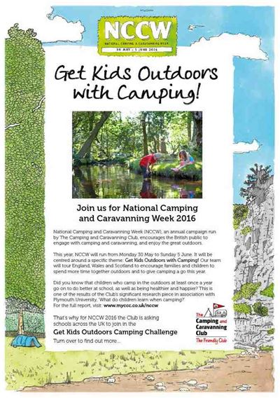 Get Kids Outdoors Camping Challenge