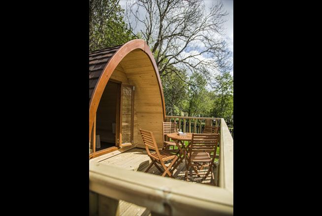 Camping Pods At Keswick Club Site The Camping And