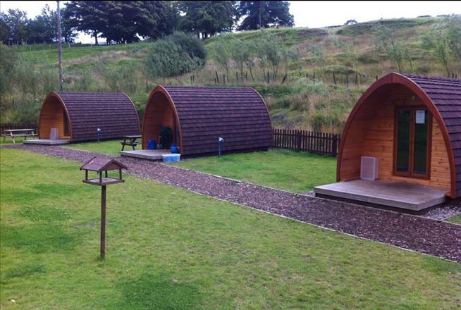 Glamping at Crowden