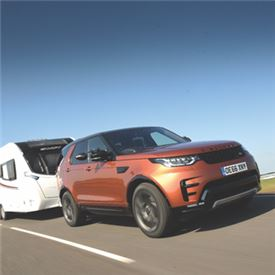 Discovery Is Tow Car Awards Champ The Camping And Caravanning Club