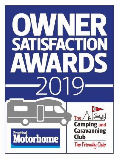 Motorhome Owner Satisfaction Awards 2018 logo