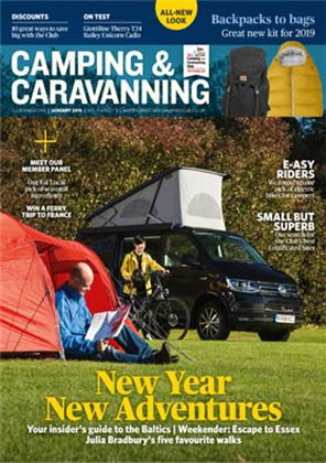 Camping and Caravanning club magazine - January 2019