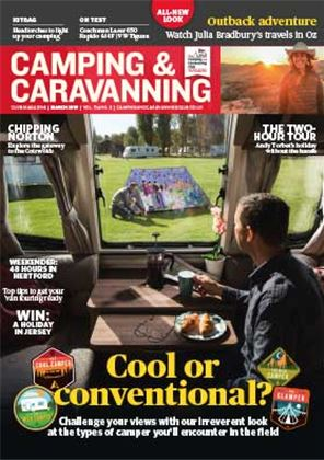 Camping and Caravanning club magazine - March 2019