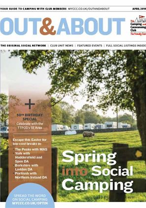 Camping and Caravanning club magazine - April 2019