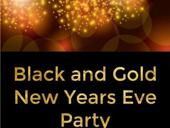 Blackmores Black & Gold themed New years eve party